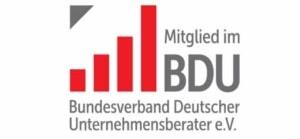 Mitglied im BDU - Bundesverband Deutscher Unternehmensberater e.V.